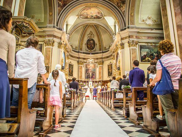 Il matrimonio di denis e chiara a Bonate Sopra, Bergamo 23