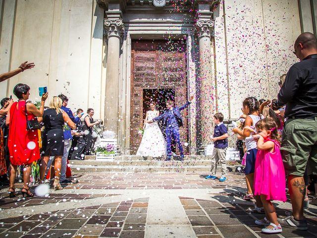 Il matrimonio di denis e chiara a Bonate Sopra, Bergamo 29