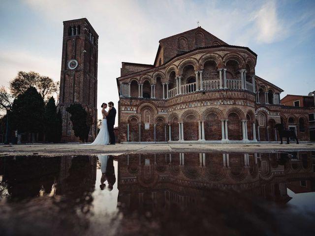 Il matrimonio di Enrico e Elena a Venezia, Venezia 1
