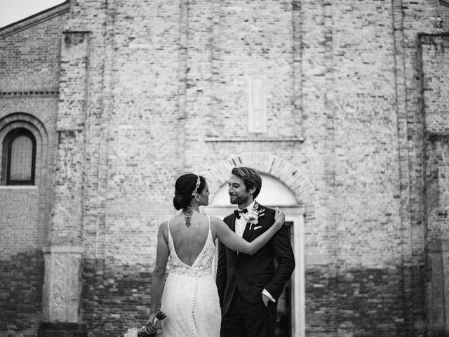 Il matrimonio di Enrico e Elena a Venezia, Venezia 40