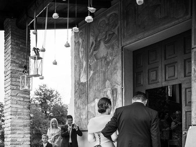 Il matrimonio di Simone e Sara a Drezzo, Como 11