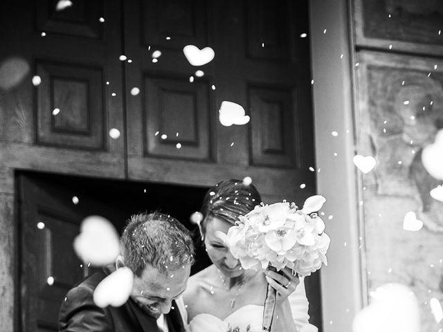 Il matrimonio di Simone e Sara a Drezzo, Como 15