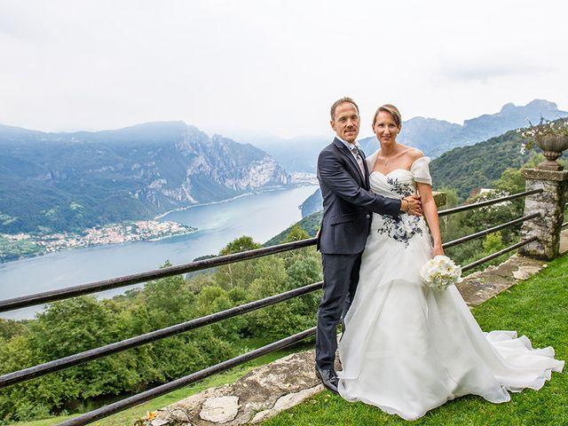 Il matrimonio di Simone e Sara a Drezzo, Como 21