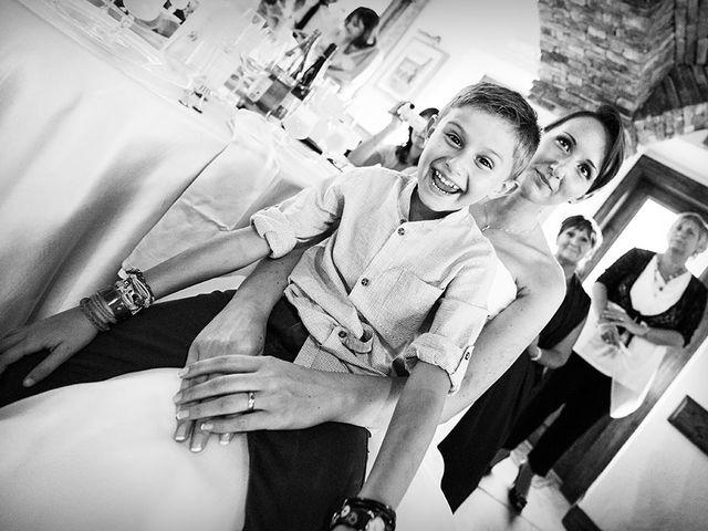 Il matrimonio di Simone e Sara a Drezzo, Como 24