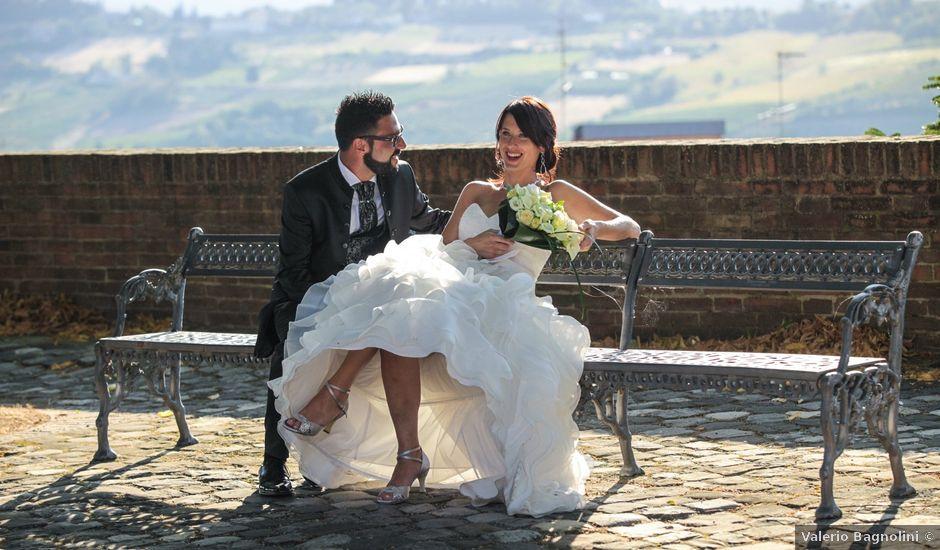 Il matrimonio di Luca e Laura a Longiano, Forlì-Cesena