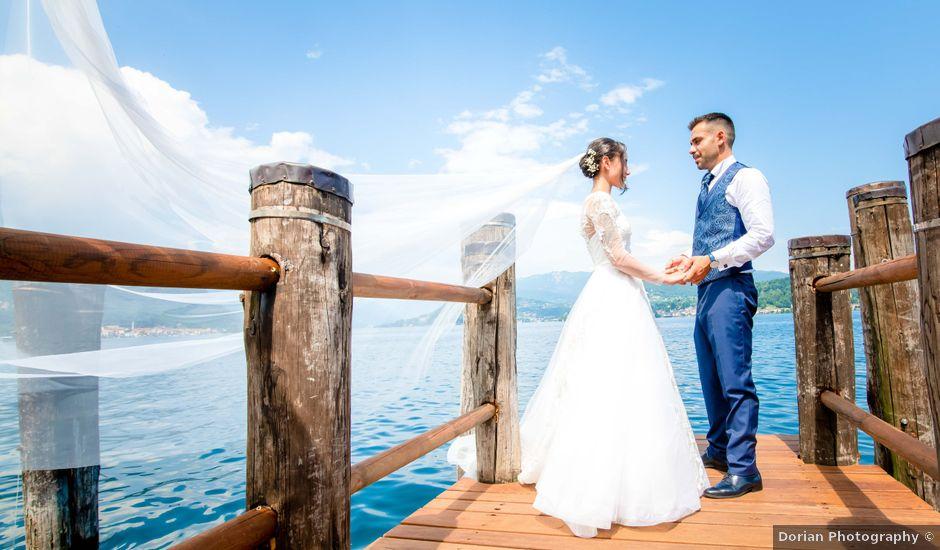 Il matrimonio di Manuel e Camilla a Soriso, Novara