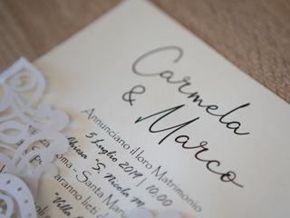 Le nozze di Carmela e Marco 1