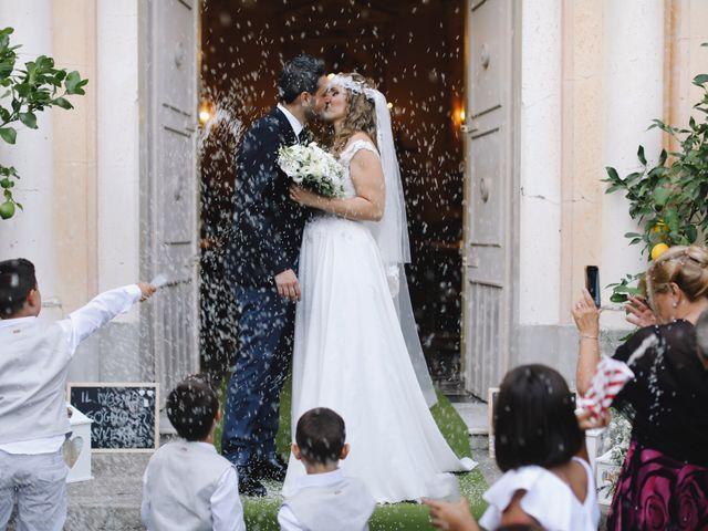 Il matrimonio di Giuliano e Lucia a Amalfi, Salerno 22
