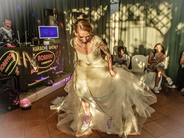Il matrimonio di Fabio e Melissa a Palazzolo sull'Oglio, Brescia 216