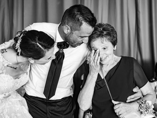 Il matrimonio di Fabio e Melissa a Palazzolo sull'Oglio, Brescia 200