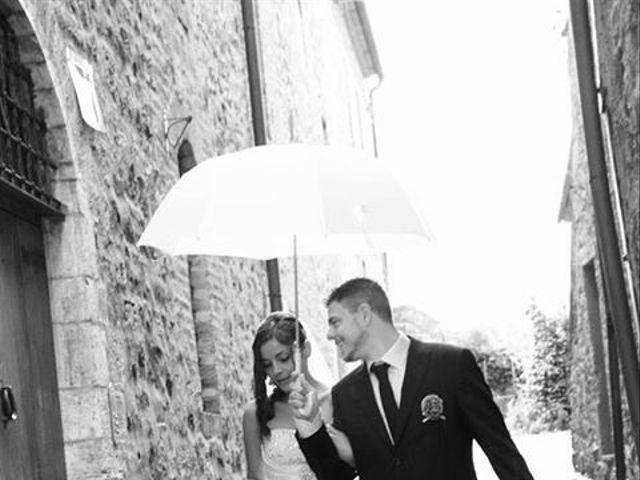 Il matrimonio di Daniele e Elisa a Castiglione d'Orcia, Siena 32
