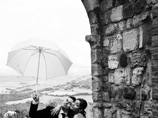Il matrimonio di Daniele e Elisa a Castiglione d'Orcia, Siena 33