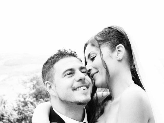 Il matrimonio di Daniele e Elisa a Castiglione d'Orcia, Siena 34