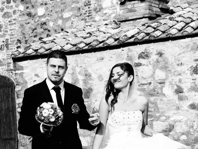 Il matrimonio di Daniele e Elisa a Castiglione d'Orcia, Siena 36