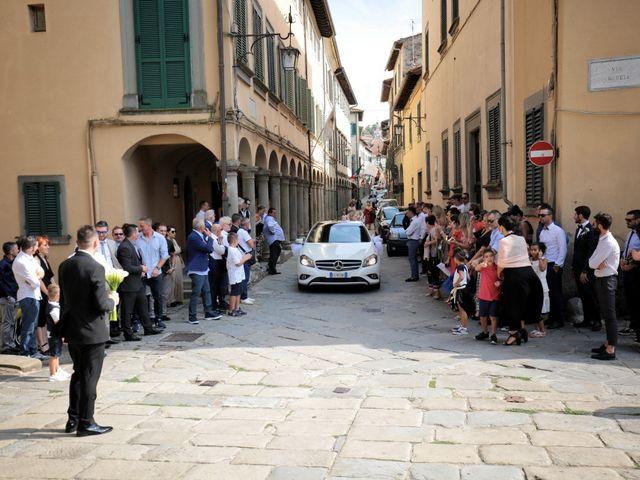Il matrimonio di Valentina e Fabio a Poppi, Arezzo 18
