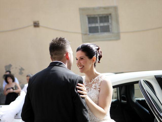 Il matrimonio di Valentina e Fabio a Poppi, Arezzo 19