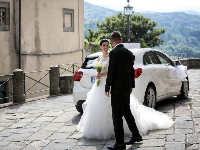 Il matrimonio di Valentina e Fabio a Poppi, Arezzo 20