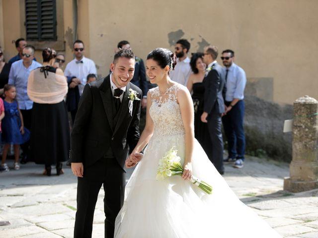 Il matrimonio di Valentina e Fabio a Poppi, Arezzo 21