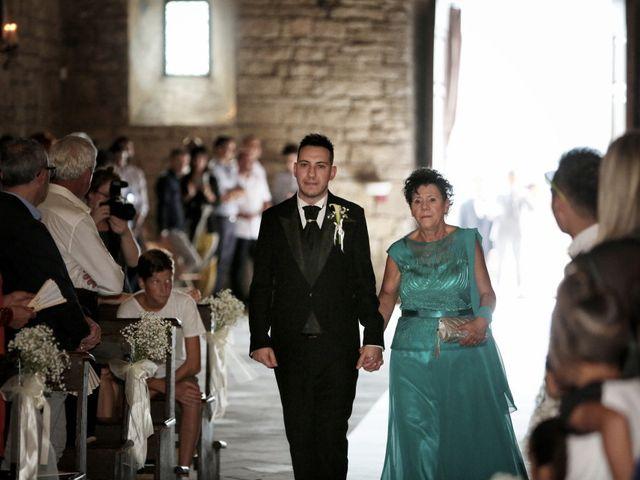 Il matrimonio di Valentina e Fabio a Poppi, Arezzo 23
