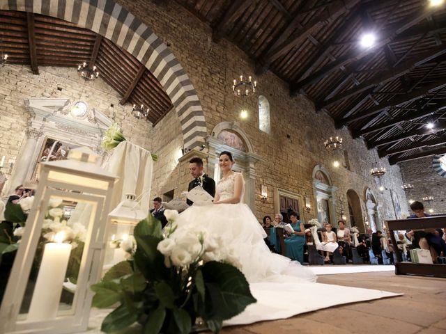 Il matrimonio di Valentina e Fabio a Poppi, Arezzo 28
