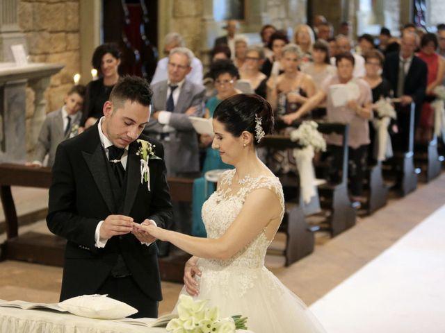 Il matrimonio di Valentina e Fabio a Poppi, Arezzo 34