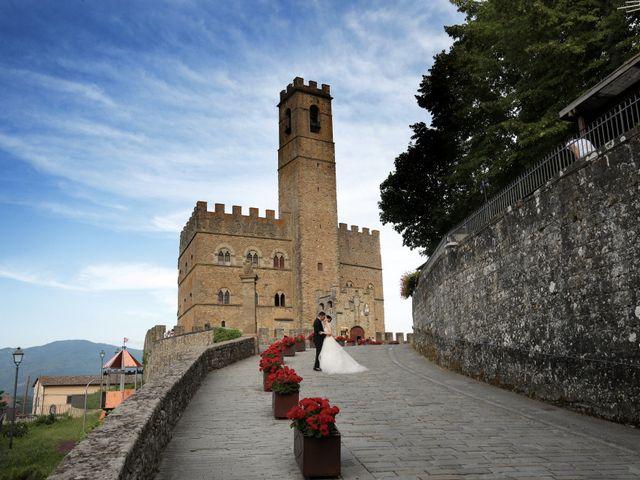 Il matrimonio di Valentina e Fabio a Poppi, Arezzo 1