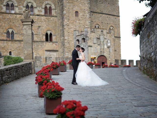 Il matrimonio di Valentina e Fabio a Poppi, Arezzo 41