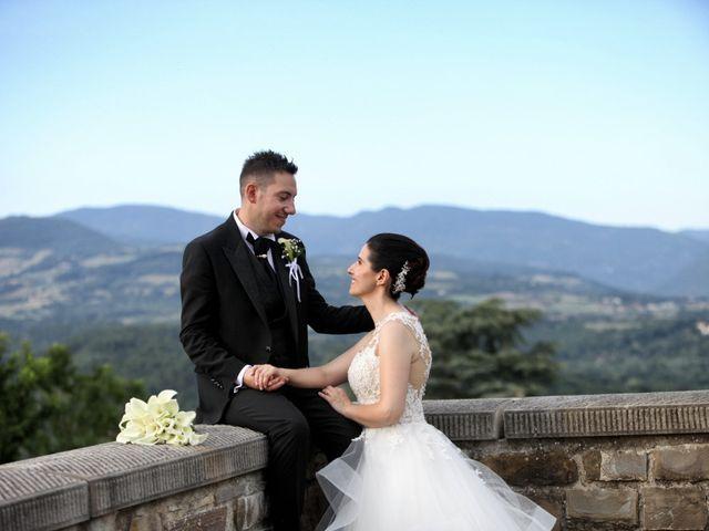 Il matrimonio di Valentina e Fabio a Poppi, Arezzo 42