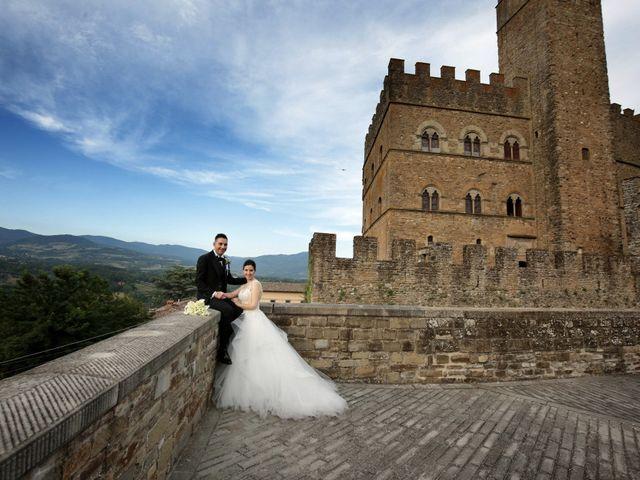 Il matrimonio di Valentina e Fabio a Poppi, Arezzo 43