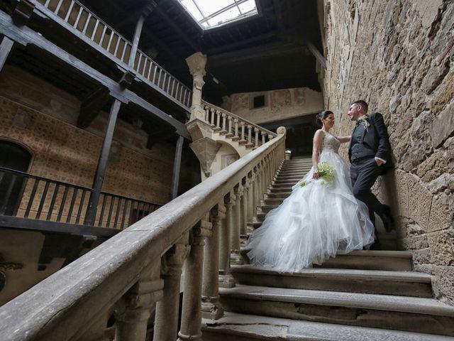 Il matrimonio di Valentina e Fabio a Poppi, Arezzo 48