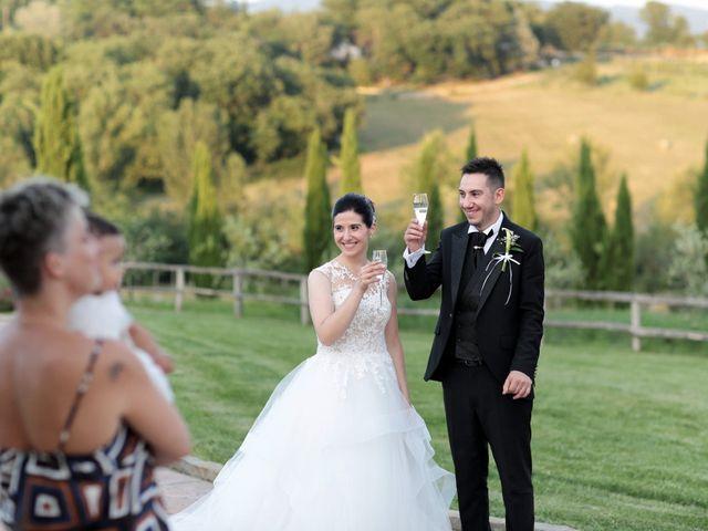 Il matrimonio di Valentina e Fabio a Poppi, Arezzo 58