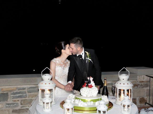 Il matrimonio di Valentina e Fabio a Poppi, Arezzo 68