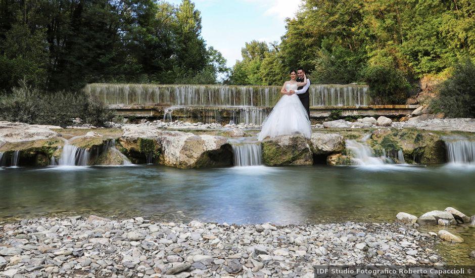 Il matrimonio di Valentina e Fabio a Poppi, Arezzo