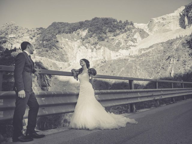 Il matrimonio di Luca e Martina a Carrara, Massa Carrara 32