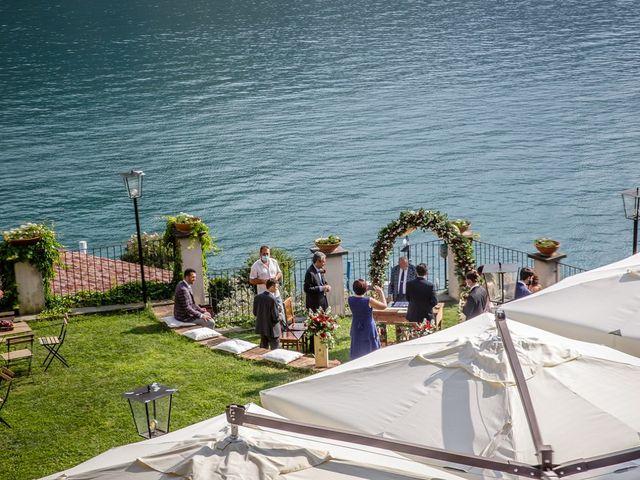 Il matrimonio di Francesco e Chiara a Monte Isola, Brescia 14