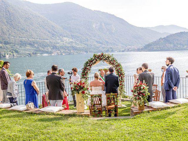 Il matrimonio di Francesco e Chiara a Monte Isola, Brescia 20