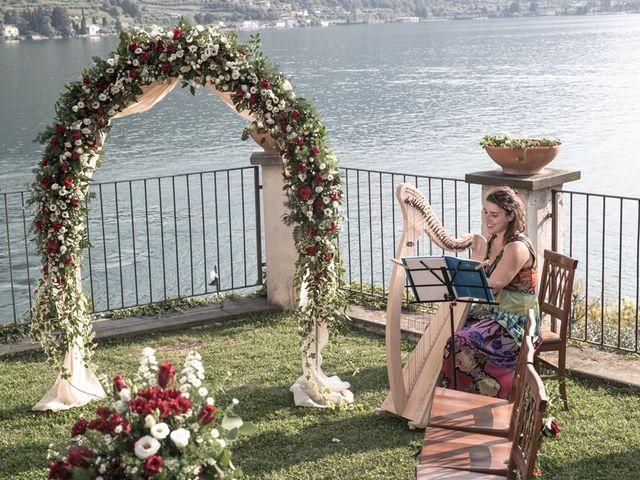 Il matrimonio di Francesco e Chiara a Monte Isola, Brescia 42