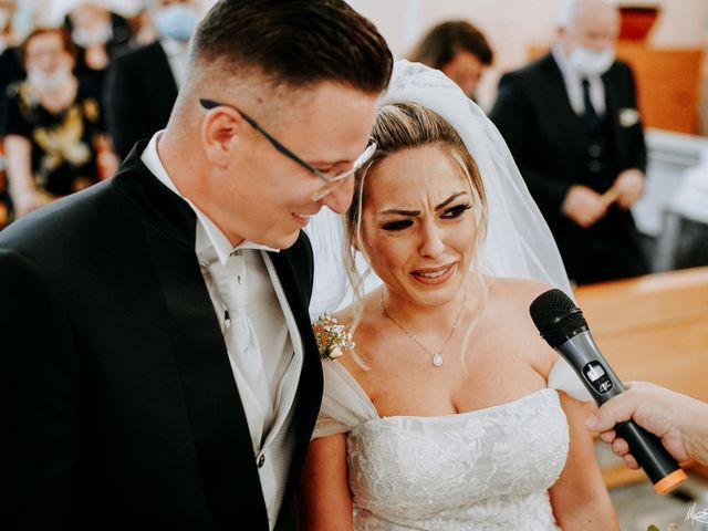 Il matrimonio di Rosaria e Carmine a Cellole, Caserta 17