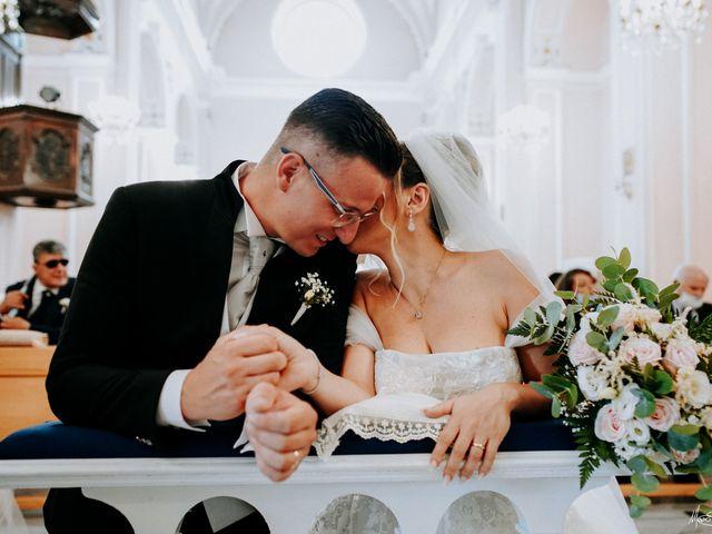 Il matrimonio di Rosaria e Carmine a Cellole, Caserta 19