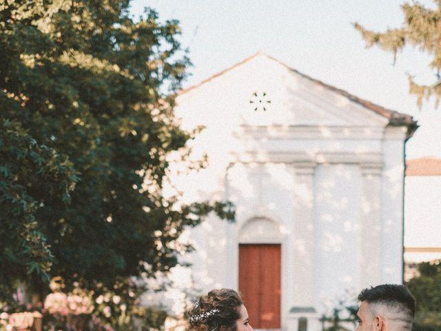 Il matrimonio di Massimiliano e Chiara a Vigonovo, Venezia 55