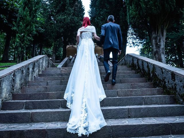 Il matrimonio di Francesco e Valentina a Oltrona di San Mamette, Como 20