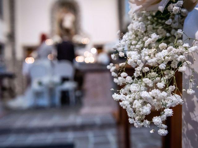 Il matrimonio di Francesco e Valentina a Oltrona di San Mamette, Como 25