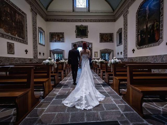 Il matrimonio di Francesco e Valentina a Oltrona di San Mamette, Como 31