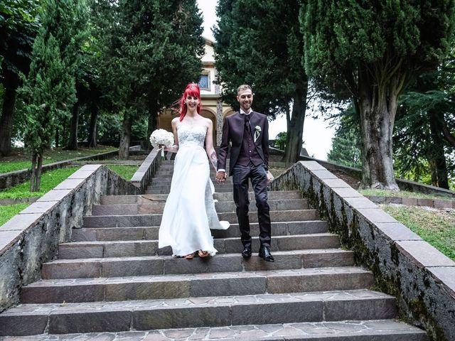Il matrimonio di Francesco e Valentina a Oltrona di San Mamette, Como 36
