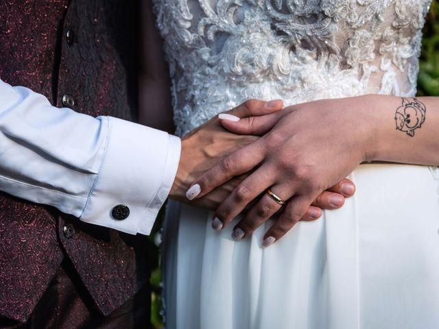 Il matrimonio di Francesco e Valentina a Oltrona di San Mamette, Como 45