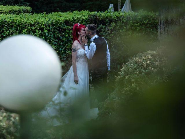 Il matrimonio di Francesco e Valentina a Oltrona di San Mamette, Como 49