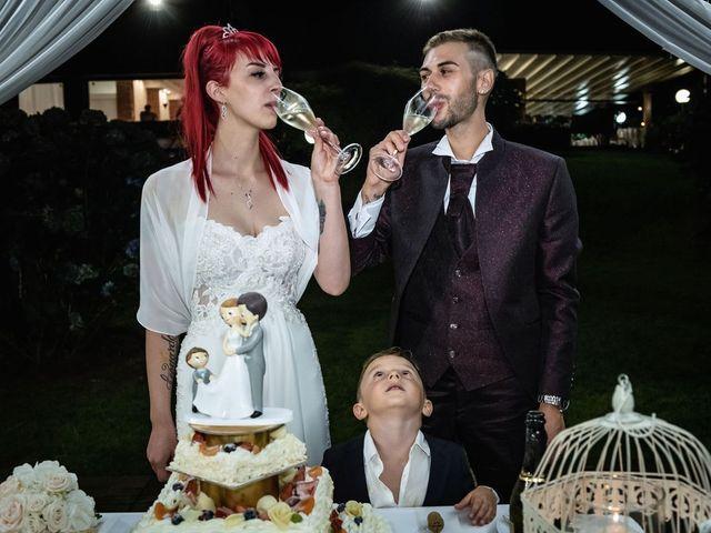 Il matrimonio di Francesco e Valentina a Oltrona di San Mamette, Como 60