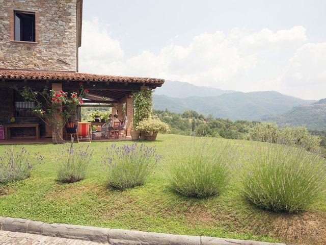 Il matrimonio di Lorenzo e Anna a Bagnone, Massa Carrara 1
