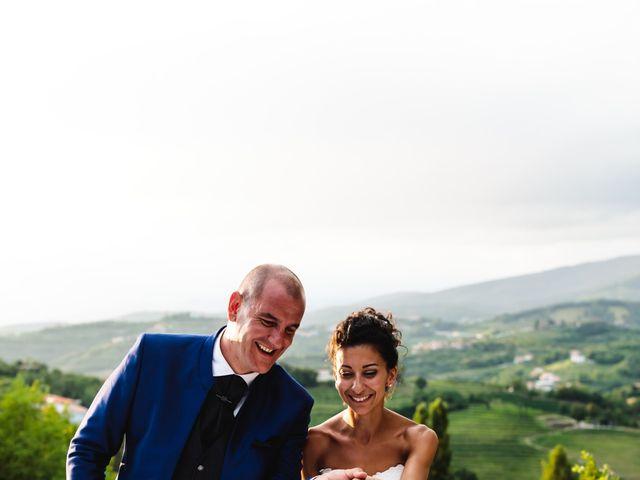 Il matrimonio di Tiziano e Francesca a San Floriano del Collio, Gorizia 390