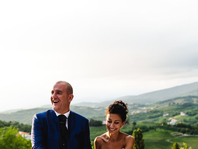 Il matrimonio di Tiziano e Francesca a San Floriano del Collio, Gorizia 394